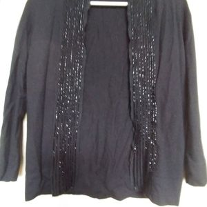 J Crew cashmere blend evening sweater